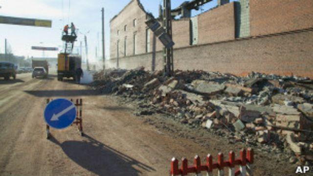 Последствия взрыва метеорита в Челябинске