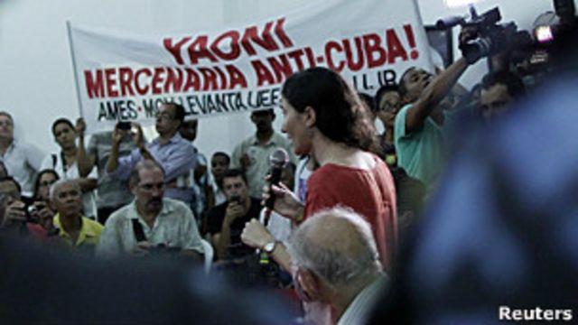 Brasil: suspenden acto con Yoani Sánchez por protestas - BBC News Mundo