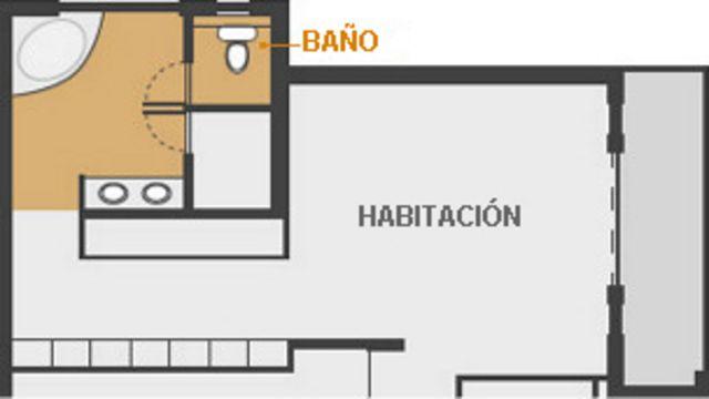 Mapa de casa de Pistorius