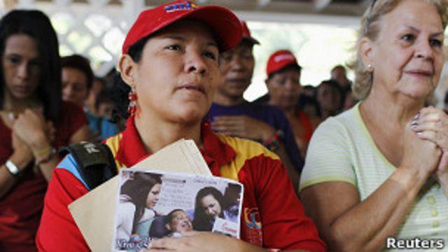 Молитвы за здоровье Уго Чавеса