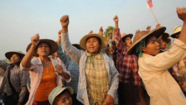 Letpadaung Protesters