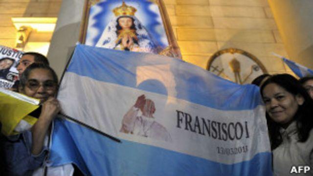 Los fieles en Argentina vivieron una jornada de celebraciones.