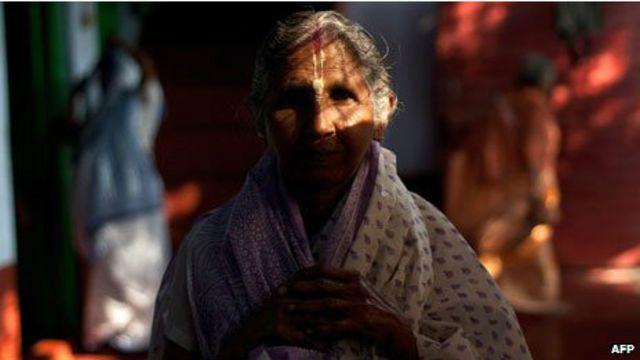 Viúva na Índia