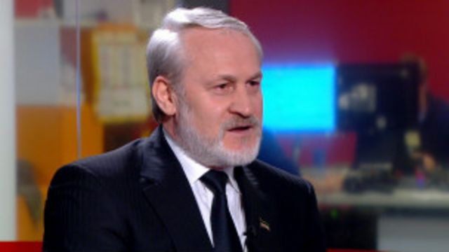 Ахмед Закаев, бывший лидер чеченских сепаратистов