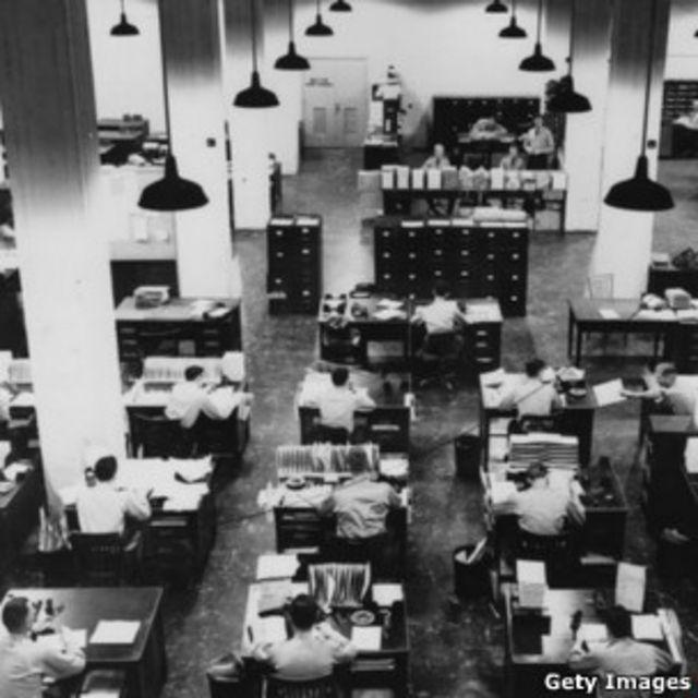 Офис Пентагона 1950-х