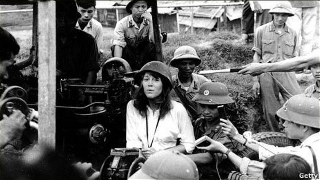 Jane Fonda ở Hà Nội hồi năm 1972
