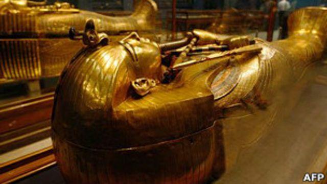 sarcófago de Tutankamón