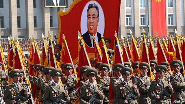 Desfile militar norcoreana