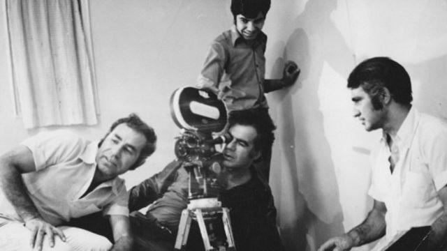 زکریا هاشمی در پشت صحنه فیلم سه قاپ