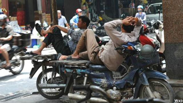 Một góc ở Sài Gòn