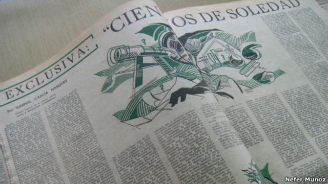 El diario El Espectador publicó el primer capítulo de Cien años de soledad en 1966.