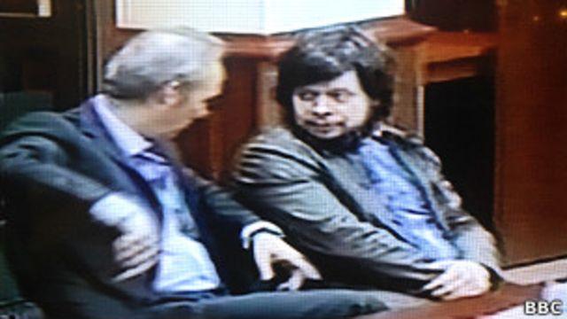 Константин Лебедев и адвокат Лавров