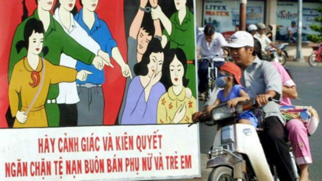 Việt Nam thường tuyên truyền phòng chống nạn buôn bán phụ nữ, trẻ em