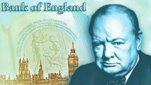 Billete de Churchill