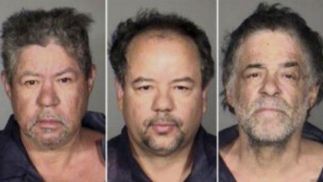 Foto de los tres hermanos entregada por la policía