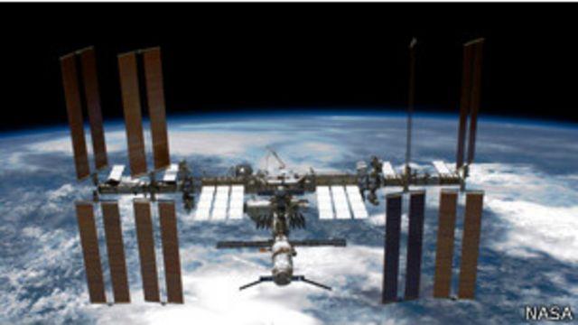 Vista de la Estación Espacial Internacional
