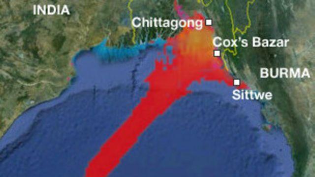 Cyclone Mahasen Burma Rakhine