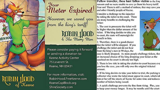 Robin Hood of Kenne