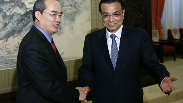 Phó Thủ tướng Nguyễn Thiện Nhân thăm Bắc Kinh hồi tháng 5/2013