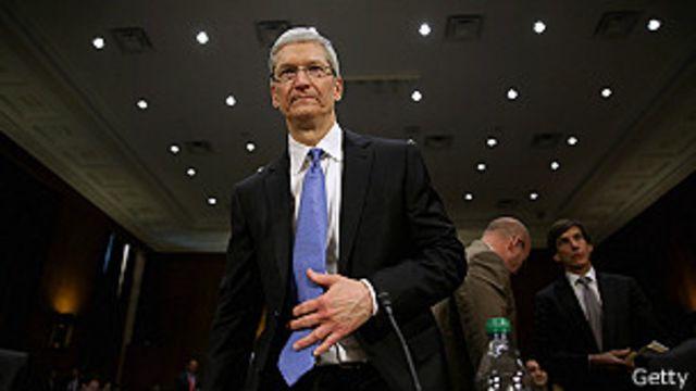 Tim Cook, director ejecutivo de Apple