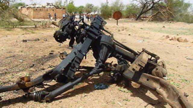 Wurin da aka kai harin ƙunar baƙin wake a Agadez kwanki goma da suka gabata