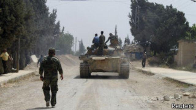 ဟက်ဇ်ဘိုလာ တပ်ဖွဲ့ တွေနဲ့ ဆီးရီးယား သူပုန် တွေ ညလုံးပေါက် တိုက်ခိုက်ခဲ့ကြ