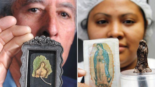 Мона Ліза на листку і Мадонна з шоколаду
