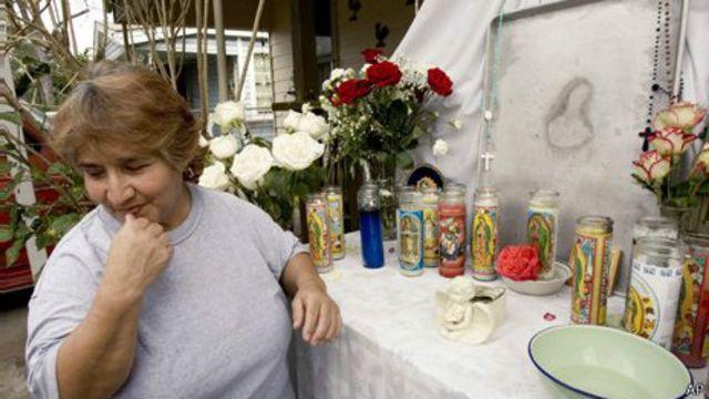 Гвадалупе Родригес увидела Деву Марию на подносе техасского кафе