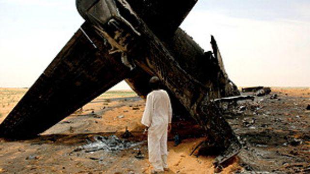 Accidente en Sudán