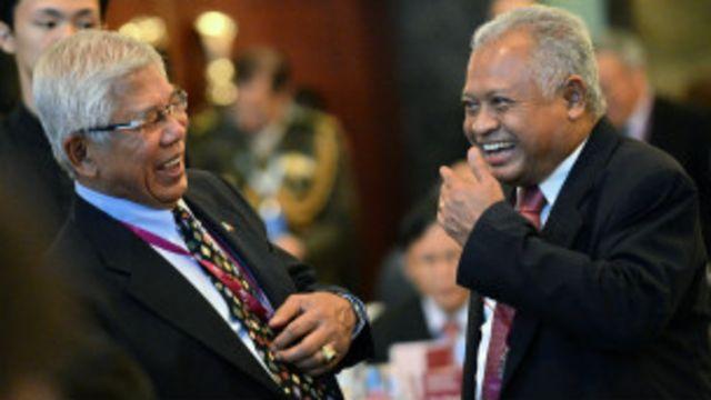 Đồng cảm Asean: hai bộ trưởng quốc phòng Philippines và Indonesia ở Đối thoại Shangri-La