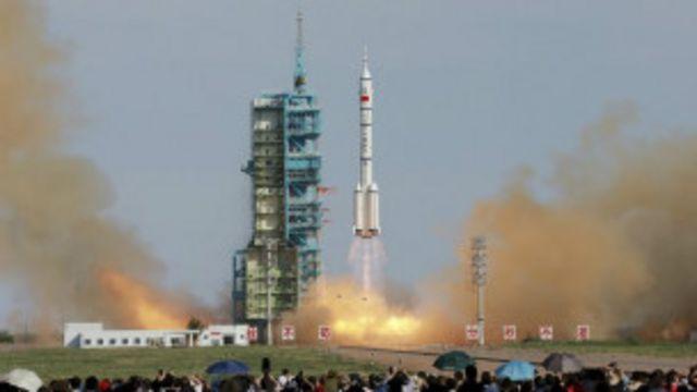 Misi Cina ke ruang angkasa