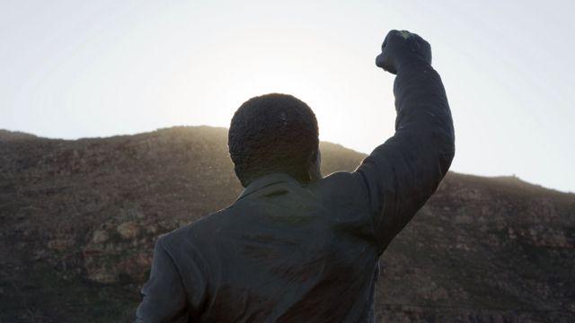 Patung Mandela. Getty Images
