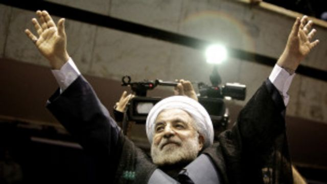 သမ္မတဟောင်း ၂ ယောက် နဲ့ မစ္စတာ Rouhani မဲရုံ တွေကို လိုက် ကြည့် ခဲ့ပါ သေးတယ်