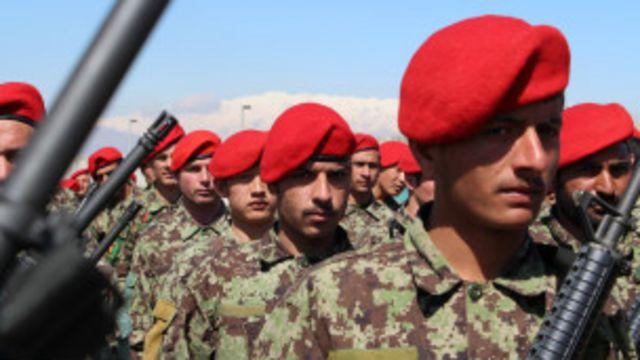 အာဖဂန်တပ်ဖွဲ့တွေ နိုင်ငံလုံခြုံရေး တာဝန်လွှဲယူ