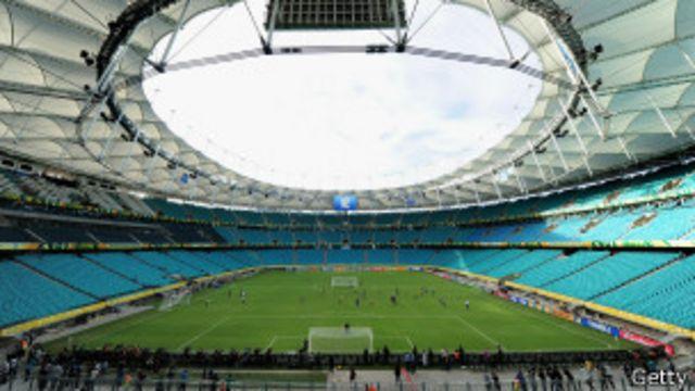 Estádio Fonte Nova (Foto Getty Image)