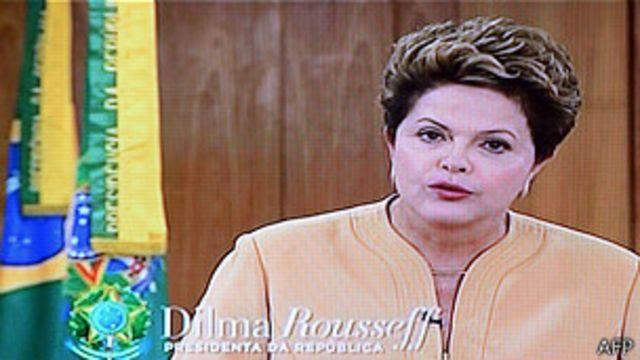 အကြမ်းဖက် ဆူပူမှုတွေကို သည်းခံမှာ မဟုတ်ဘူးလို့ ဘရာဇီးလ် သမ္မတ ပြော