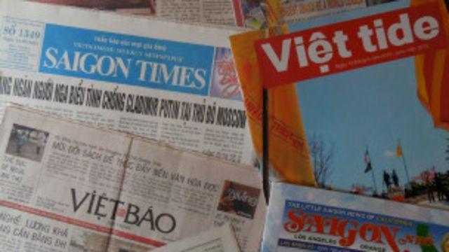 Người Việt ở Mỹ có một số tờ báo riêng
