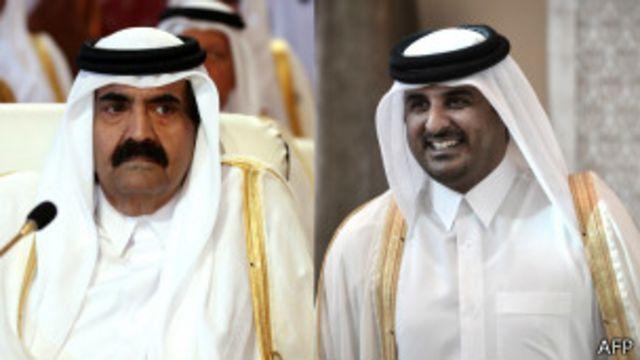 امیران قدیم و جدید قطر