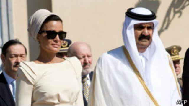 حمد و همسر دومش