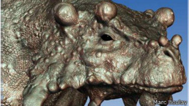 Un Reptil Muy Feo Deambuló El Vasto Desierto Ancestral Bbc News Mundo