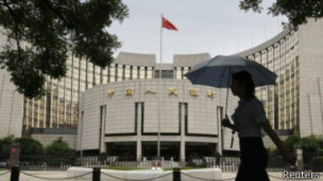 中國人民銀行表示短期利率臨時上調不會損害實體經濟