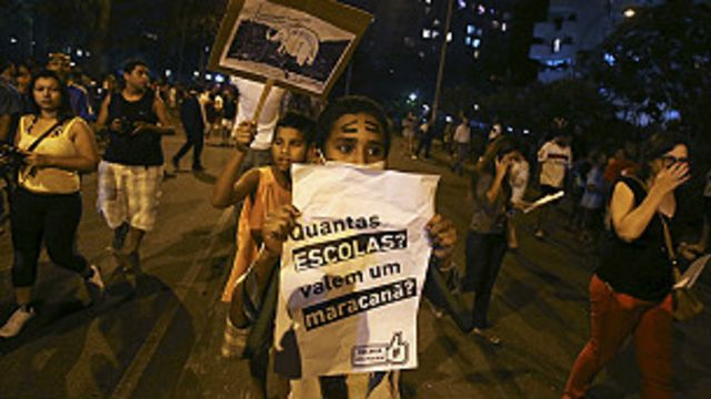Protesto (Foto Reuters)