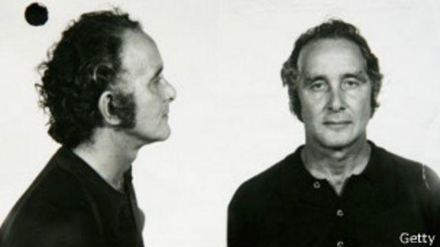 Британский грабитель Ронни Биггс