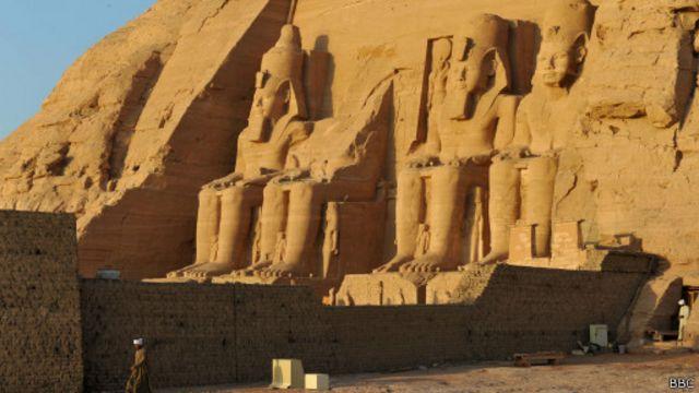 Храм Рамзеса в Египте