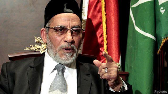 اعتقل بديع في مرسى مطروح