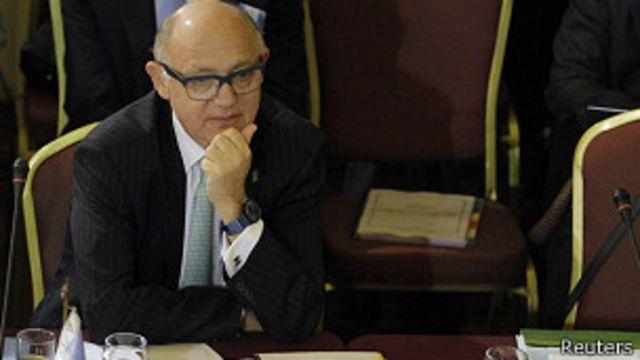 Canciller argentino Héctor Timerman.