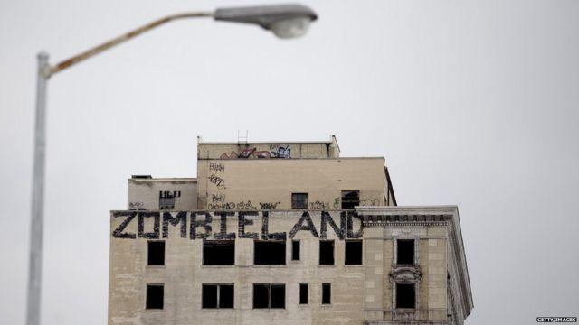 Edificio desocupado en Detroit