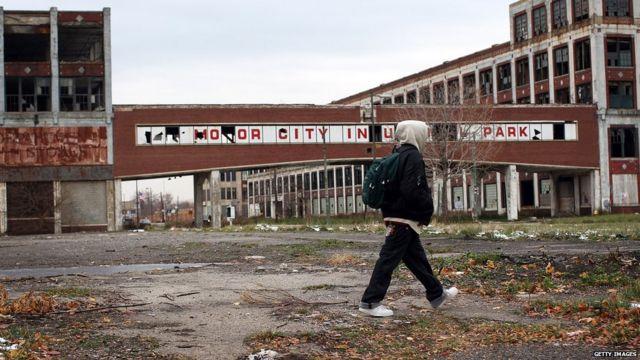 Zonas vacías en Detroit