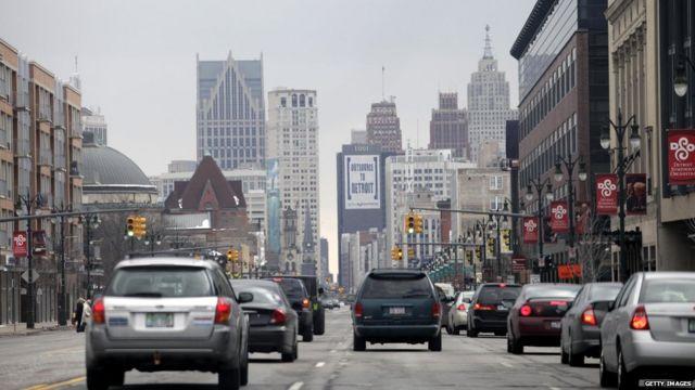 Calles de Detroit