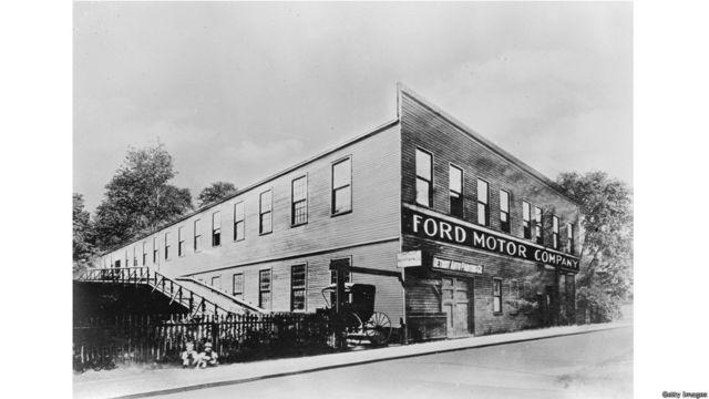 Sede histórica de Ford en Detroit